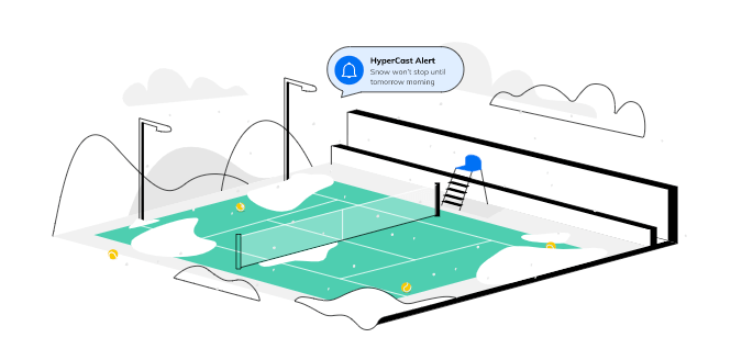 weather software for sports