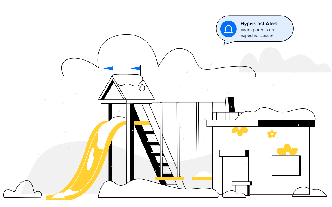 weather software for daycare