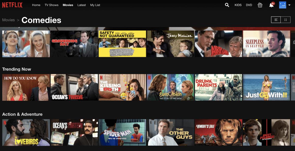 netflix movies to watch when it's rainy