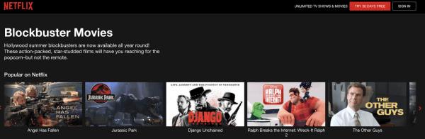 netflix summer blockbuster movies