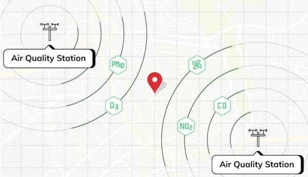 air quality sensor Tomorrow.io