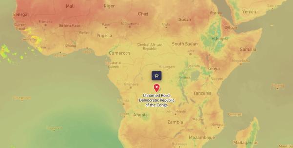 tomorrow.io forecast africa