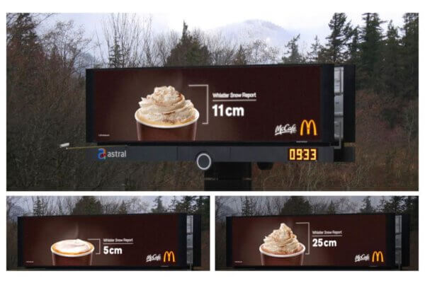 mcdonalds weather ad