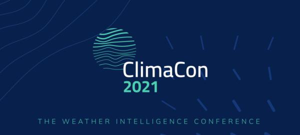 climacon 2021 Tomorrow.io weather intelligence